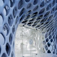 The Romanticism Women Clothing Store Interior by SAKO Architects