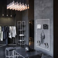 Дестинация Киев... PODOLYAN fashion store design by FILD